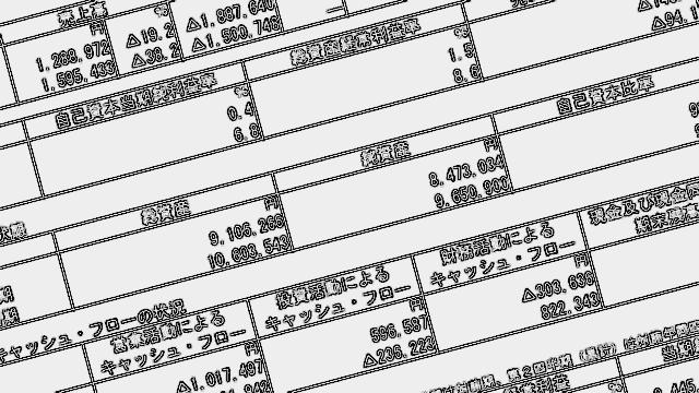 財務諸表のイメージ