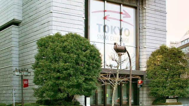 東京証券取引所のイメージ