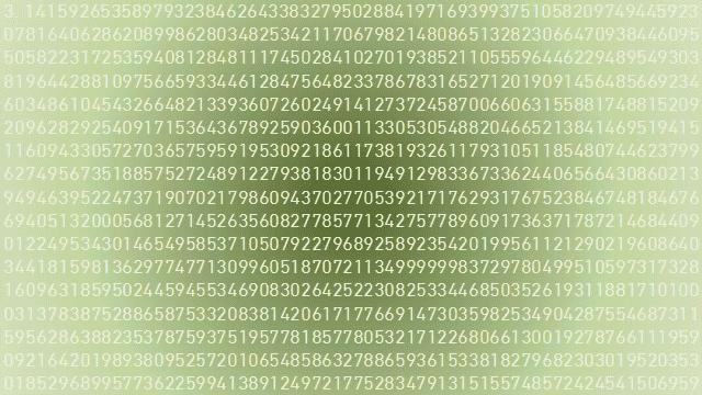 円周率のイメージ