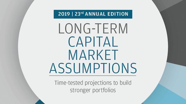 JPモルガンAMのLong-Term Capital Market Assumptionsのイメージ