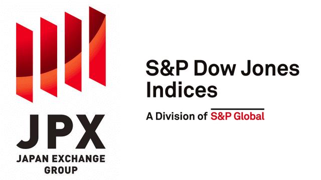 JPXとS&P ダウ・ジョーンズ・インデックスのロゴ