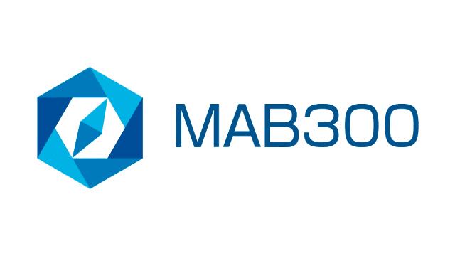 「MAB投信指数」(MAB300)のロゴのイメージ
